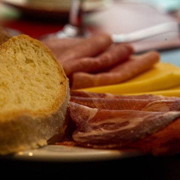 Desayuno BUFFET - fiambres y quesos