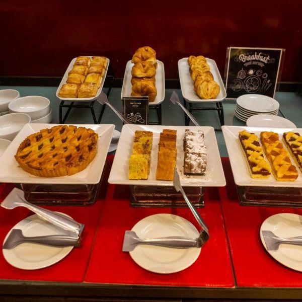 Desayuno BUFFET - pastelería