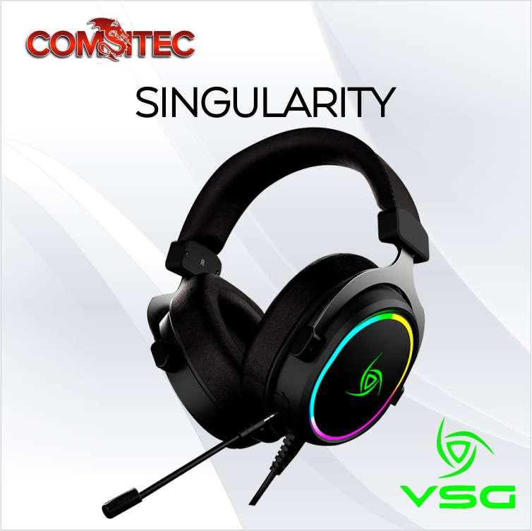 AUDIFONO VSG C/MICROFONO SINGULARITY GAMING