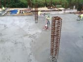 colocación de concreto